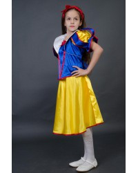 Карнавальный костюм Белоснежка