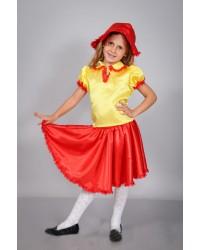 Детский карнавальный костюм Дюймовочка