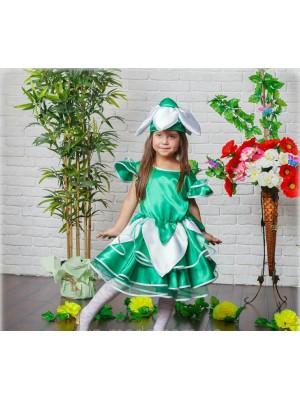 Карнавальное платье Подснежник