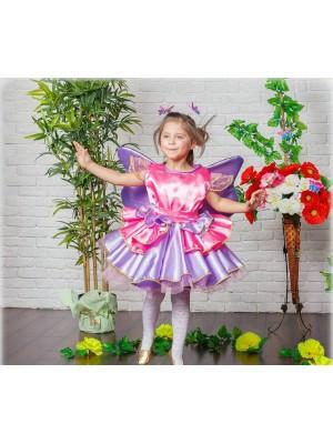 Карнавальное платье для девочки Бабочки-феи