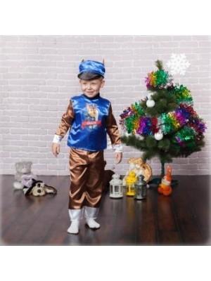Детский костюм мультяшного персонажа Чейз (Щенячий патруль)