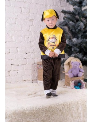 Детский костюм мультяшного персонажа Крепыш (Щенячий патруль)