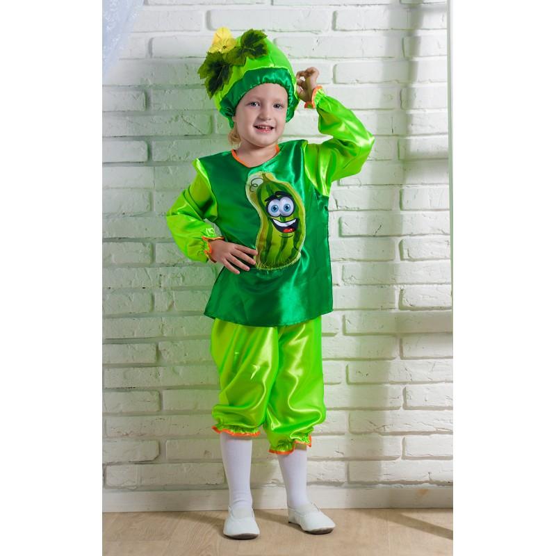 Карнавальный костюм огурца для детского праздника  3 товара