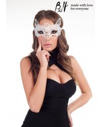 Маска карнавальная 5011 белый