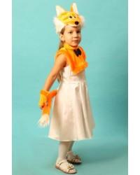 Карнавальный костюм Лиса Лисичка (маска-плюс)