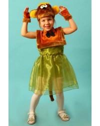 Карнавальный костюм Обезьяна Обезьянка (маска-плюс)