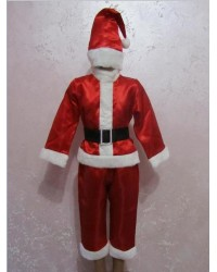 Карнавальный Костюм Санта Клаус Дед Мороз Гномик