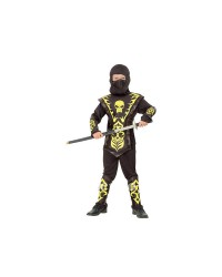 Карнавальный костюм Ниндзя Нинзя желтый