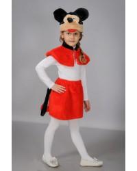 Детский карнавальный костюм Микки Маус девочка