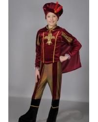 Детский карнавальный костюм Принц Царевич Паж