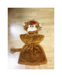 Детский карнавальный костюм Обезьяна Мартышка Макака мех