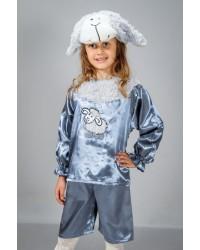 Детский карнавальный костюм Барашек Овечка