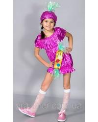 Детский карнавальный костюм Конфетка