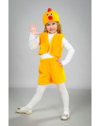 Детский карнавальный костюм Цыпленок шорты