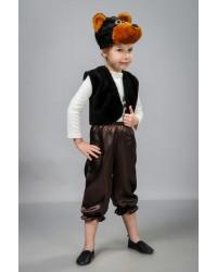 Детский карнавальный костюм Медведь атлас