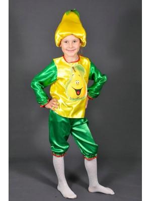 Карнавальный костюм Груша Грушка