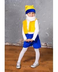 Детский карнавальный костюм Гномик Гном