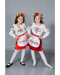 Детский карнавальный костюм Украинка (р-р 28-38)