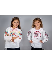 Украинская вышиванка для девочки
