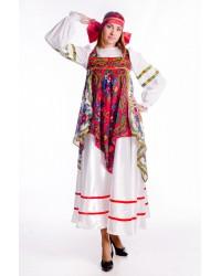 Костюм русский народный с платками