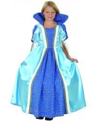 Карнавальный костюм Принцесса голубая