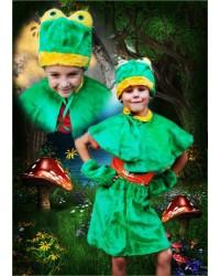 Карнавальный костюм Лягушка Лягушонок Жаба Жабка