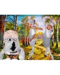 Карнавальный костюм ослик Иа Осел