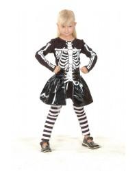 Карнавальный костюм Скелет (девочка)