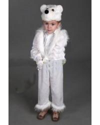 Костюм Белый медведь медвежонок мишка