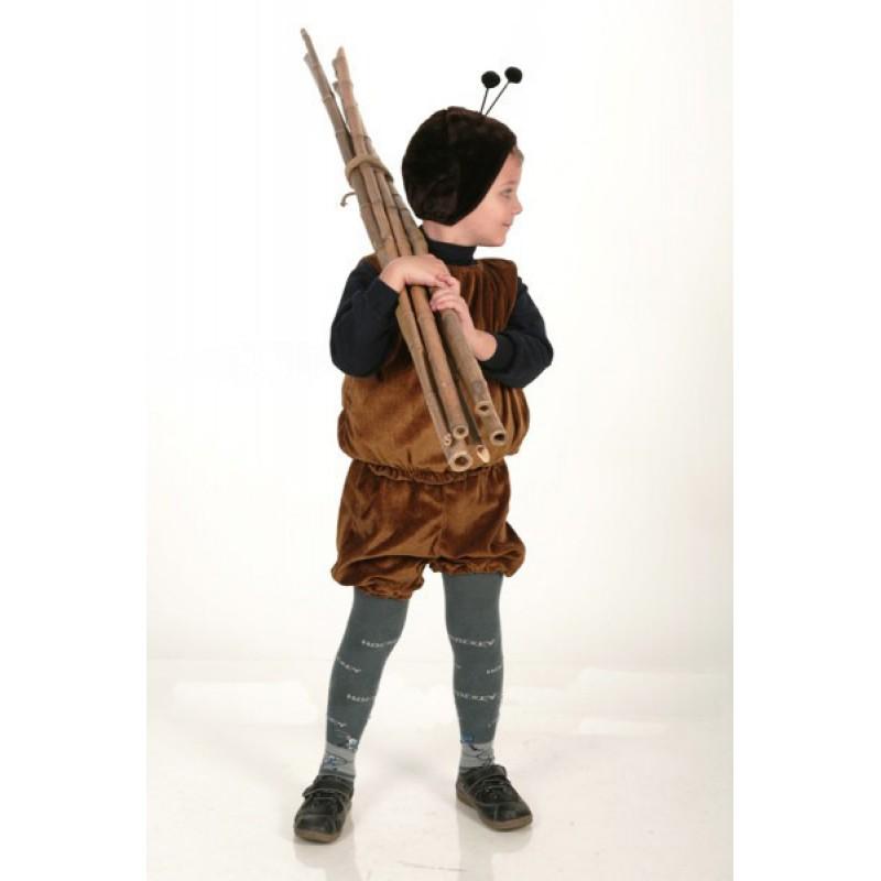 Как сделать костюм муравья для мальчика