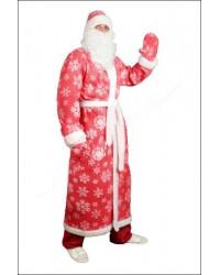 Костюм Дед Мороз Санта Клаус (красный)