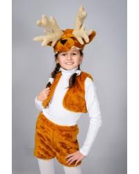 Детский карнавальный костюм Олень Лось