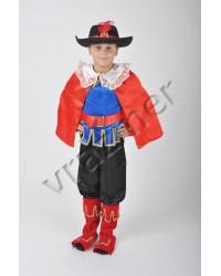Карнавальный костюм Кот в сапогах (жесткая шляпа)