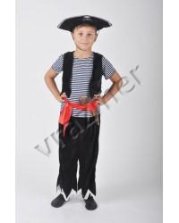 Карнавальный костюм Пират (тканевая шляпа)