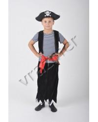 Карнавальный костюм Пират (+жесткая шляпа)