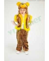 Карнавальный костюм Мишка Медвежонок Медведь