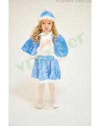 Карнавальный костюм Снегурочки Снегурка Снежинка