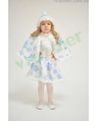 Карнавальный костюм Снежинка Снегурочка