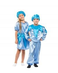 Карнавальный костюм Капельки, Облачка, Тучки, Ручейка для девочки