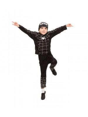 Костюм Человек-паук Спайдермен (черный)