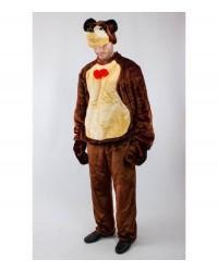 Карнавальный костюм Медведя для взрослого, Маша и медведь