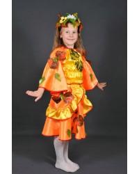 Карнавальный костюм Осени Осеннего листика Осень Листик