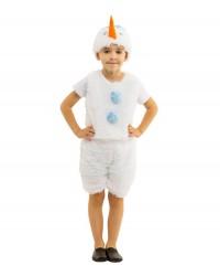 Карнавальный костюм Снеговик Снеговичек